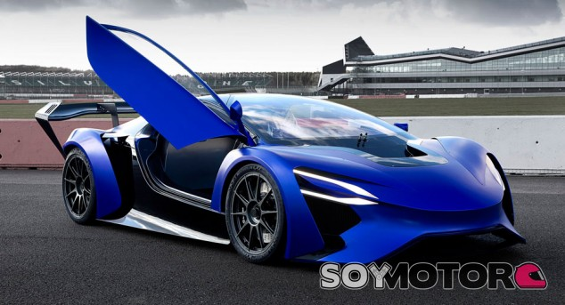 Techrules ha apostado por un perfil de deportivo biplaza para su hypercar eléctrico - SoyMotor