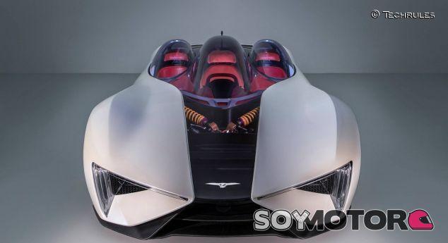 Techrules publica un avance de su nuevo superdeportivo - SoyMotor.com