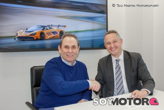 Teo Martín firma un acuerdo con McLaren - SoyMotor.com