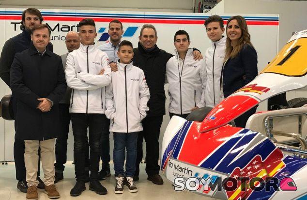 Nace Teo Martín Junior Team: apoyo desde la base - SoyMotor.com