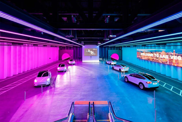 El primer túnel de Elon Musk para coches entra en funcionamiento - SoyMotor.com