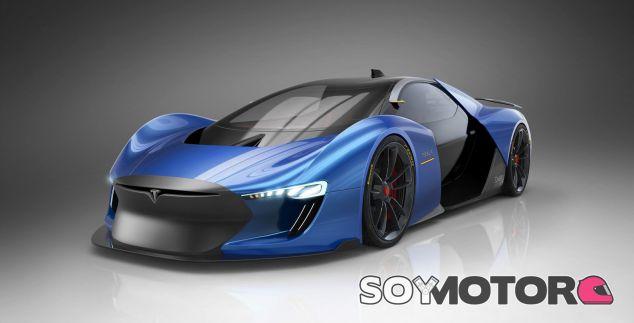 Así sería un supercar de Tesla: el Model EXP - SoyMotor.com