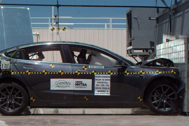 Crash-test del Tesla Model 3 - SoyMotor.com