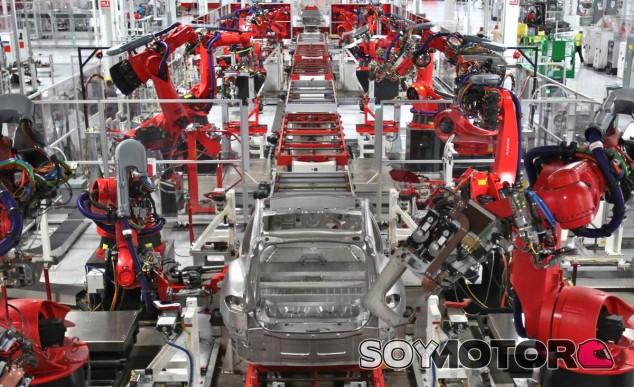 Proceso de producción del Tesla Model 3 - SoyMotor