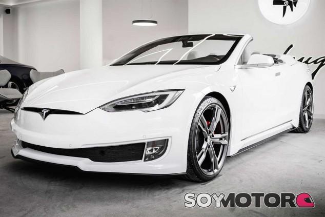 Tesla Model S Convertible de Ares Design - SoyMotor.com
