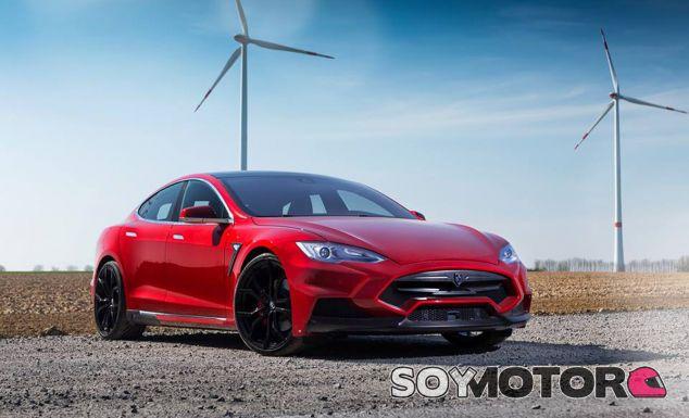 Así luce el Tesla Model S con el kit de carrocería de Voltes Design y Larte Design - SoyMotor