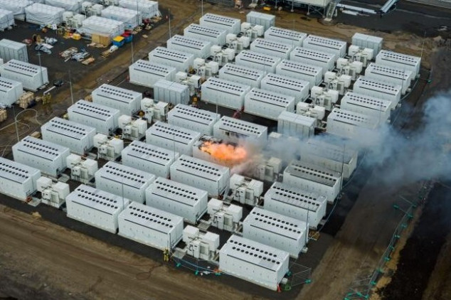 Se incendia un Megapack de baterías de Tesla en Australia - SoyMotor.com