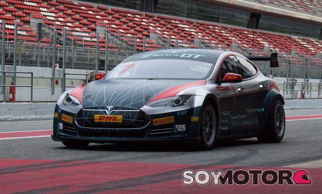 Modelo de competición del Tesla Model S P100D – SoyMotor.com