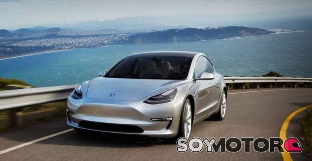 Nuevas imágenes del Model 3 en carretera