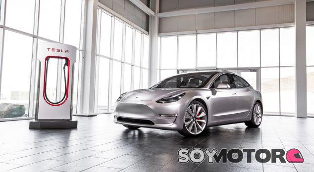 El Tesla Model 3, estrella fantasma del Salón de París