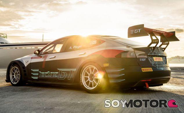 Así es el nuevo Tesla Model S P100D para Electric GT: un P100D con tracción total - SoyMotor.com