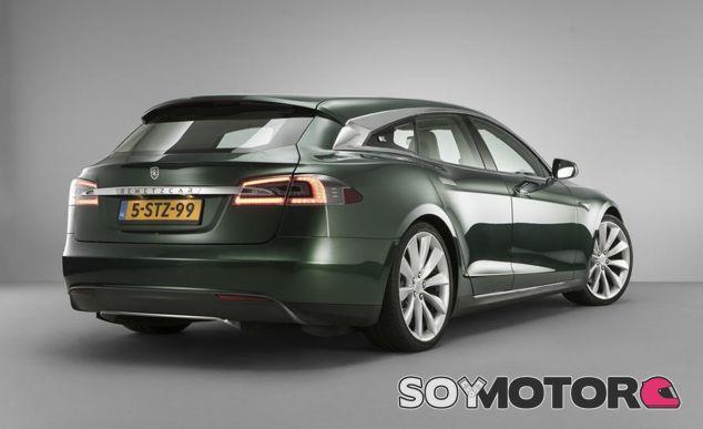 Este es el Tesla Model S Shooting Brake desarrollado por Niels van Roij Desing en Amsterdam - SoyMotor