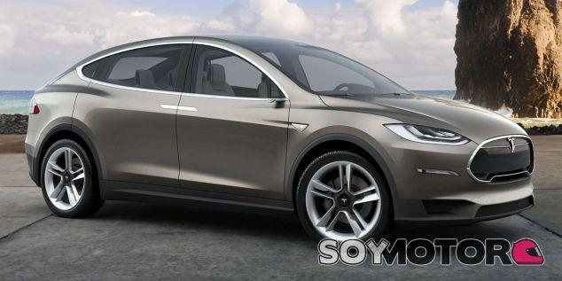El Tesla Model X es un SUV eléctrico - SoyMotor