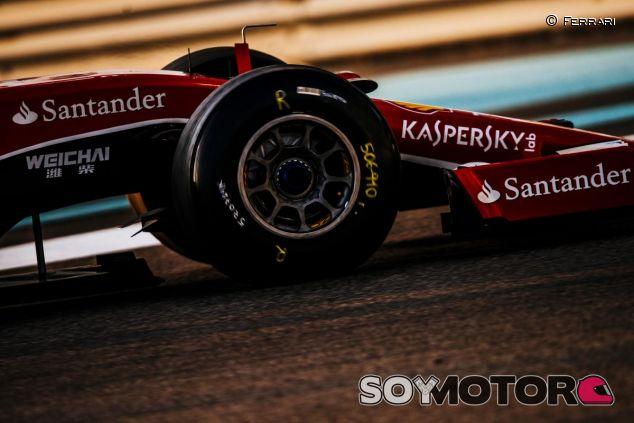 Pirelli probó el neumático ultrablando, aunque sin marcar, en los test de Abu Dabi - LaF1