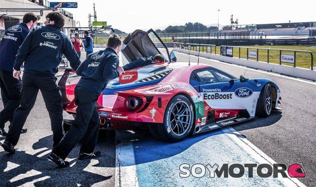 Ford GT en el Paul Ricard - LaF1