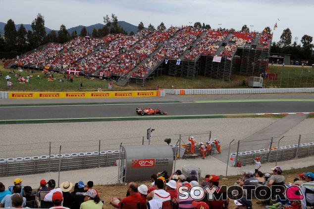 Kimi Räikkönen, ayer en Montmeló - LaF1