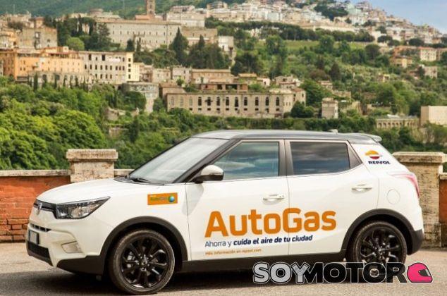SsanYong Tívoli propulsado con AutoGas- Soy Motor