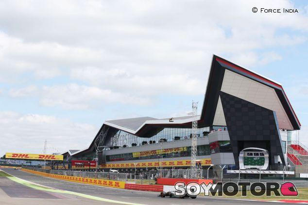 Edificio 'The Wing' en Silverstone - LaF1