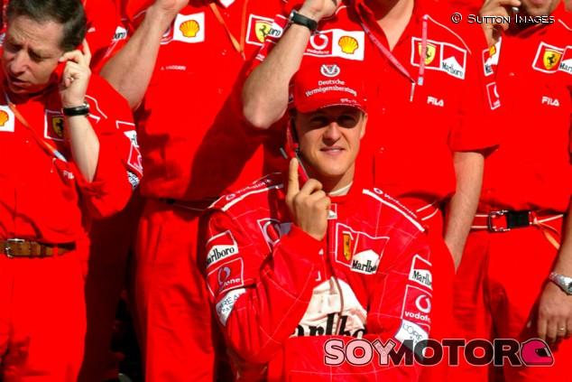 Jean Todt y Michael Schumacher en Barcelona - SoyMotor.com