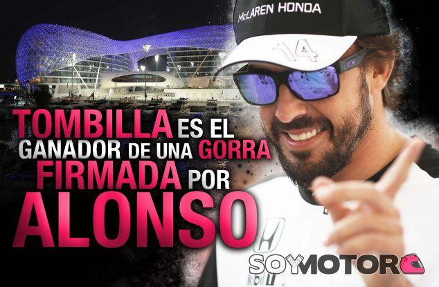 CONCURSO: ¡Gana una gorra McLaren firmada por Alonso! - LaF1
