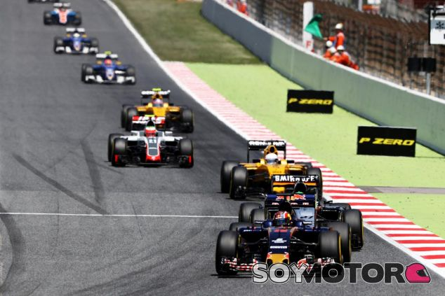 Toro Rosso puntúa con ambos coches en el GP de España - LaF1
