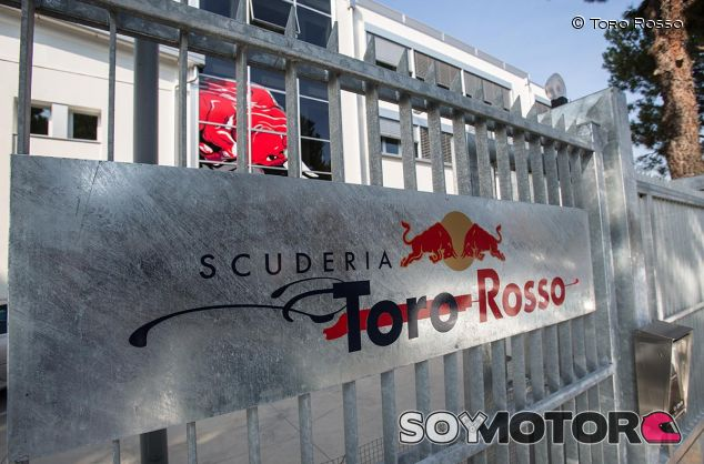 Detalle de la fábrica de Toro Rosso en Faenza - SoyMotor