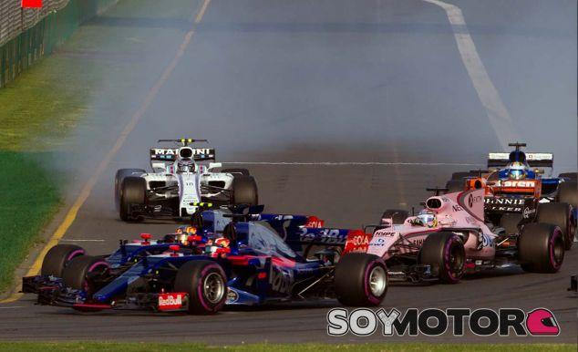 """Pérez: """"Toro Rosso y Haas fueron más rápidos que nosotros"""" - SoyMotor.com"""