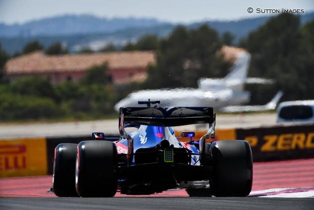Daniil Kvyat en los Libres del GP de Francia F1 2019 - SoyMotor