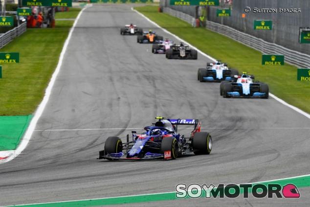 Pierre Gasly en el GP de Italia 2019 - SoyMotor