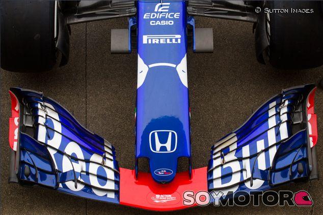 Morro y alerón delantero del STR13 en Suzuka - SoyMotor.com