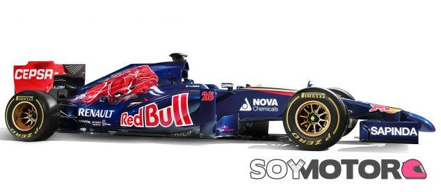 Toro Rosso presenta en Jerez el STR9, su apuesta para 2014