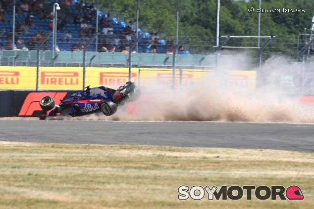 Accidente de Brendon Hartley en Silverstone - SoyMotor