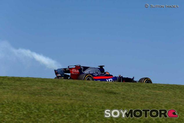 Avería de Brendon Hartley en Brasil - SoyMotor