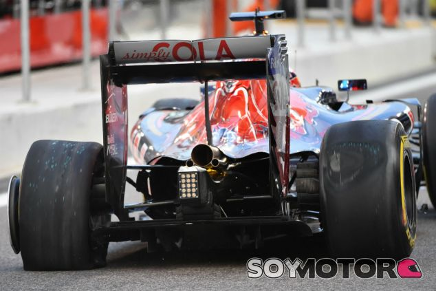 Un fallo en el ERS interrumpe el filming day de Toro Rosso - SoyMotor