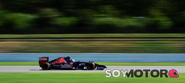 Toro Rosso en el GP de Alemania F1 2014: Viernes