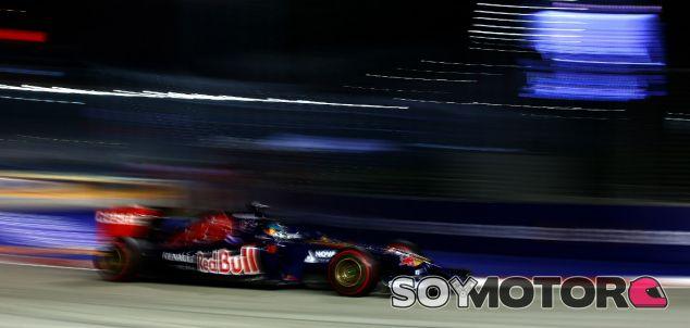 Toro Rosso en el GP de Singapur F1 2014: Domingo