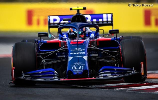 Alexander Albon en el GP de Hungría F1 2019 - SoyMotor