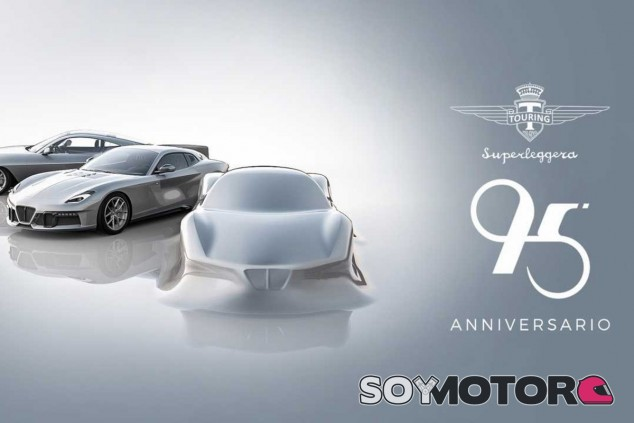 Touring Superleggera 95 Anniversario: cumpleaños con motor central - SoyMotor.com