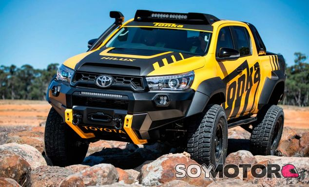 Toyota Hilux Tonka: juguete off-road - SoyMotor.com