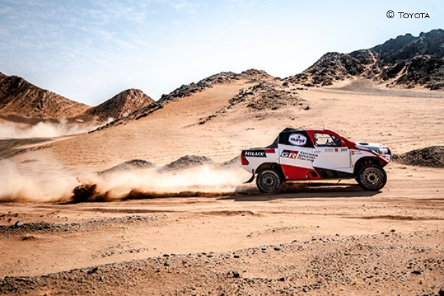 Alonso aprieta y se mantiene cuarto en el Al Ula-Neom Rally - SoyMotor.com