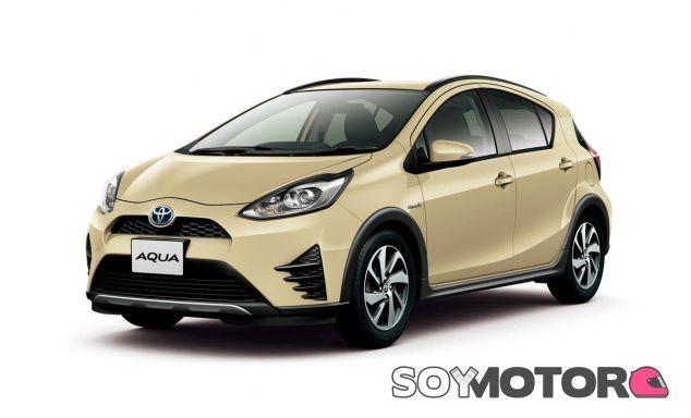 Esta es la nuevea imagen del Toyota Prius C, conocido como Toyota Aqua en Japón - SoyMotor