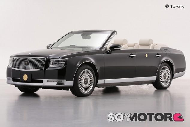 Toyota Century: un cabrio único para la coronación del emperador Naruhito - SoyMotor.com