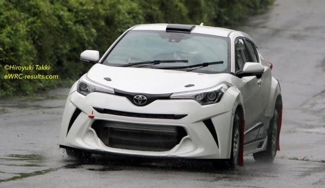 El Toyota C-HR de rallies ya ha visto la luz - SoyMotor.com