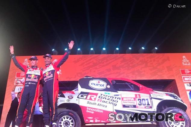 Nasser Al-Attiyah en la ceremonia de inicio del Dakar - SoyMotor.com