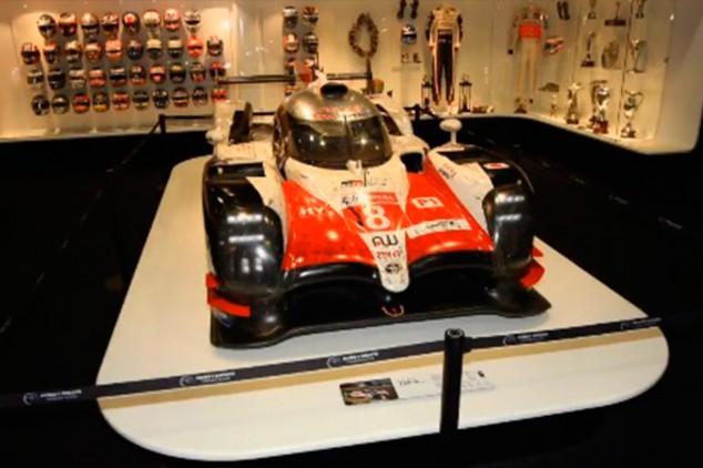 El Toyota TS050 Hybrid ya está en el museo de Alonso - SoyMotor.com