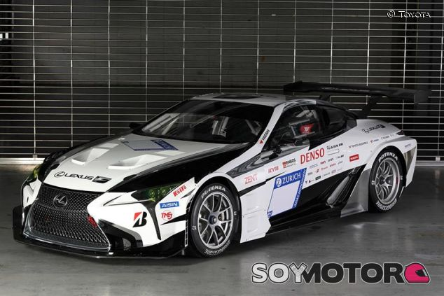 El Lexus LC con el que Toyota competirá en Nürburgring - SoyMotor