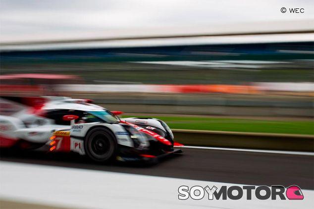 Toyota en los entrenamientos de las 6 horas de Silverstone - SoyMotor