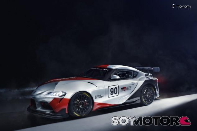 El prototipo imagina como será un modelo carreras-cliente para la categoría GT4 basado en el nuevo Supra - SoyMotor.com