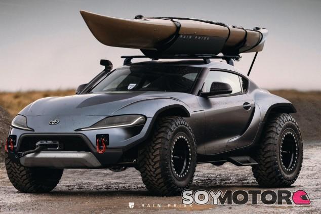 El diseñador Rain Prisk es el autor de este Supra extremo - SoyMotor.com