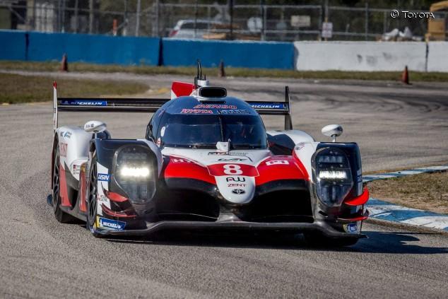 Alonso y Toyota mejoran los tiempos de 2018 en el Día 1 de test en Sebring